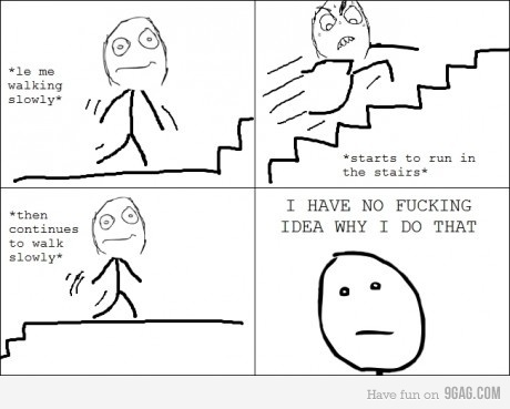 9gag, lol, memes, so true, stairs