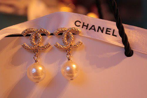 accessories, bangle, bracelet, chanel, earrings