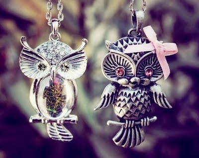 acessorie, adorable, cute, delicate, girly, lovely, necklace, owl, pretty, sweet, teenager