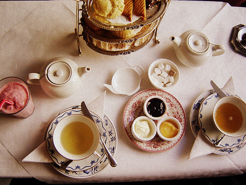 adorable, cute, food, tea, vintage