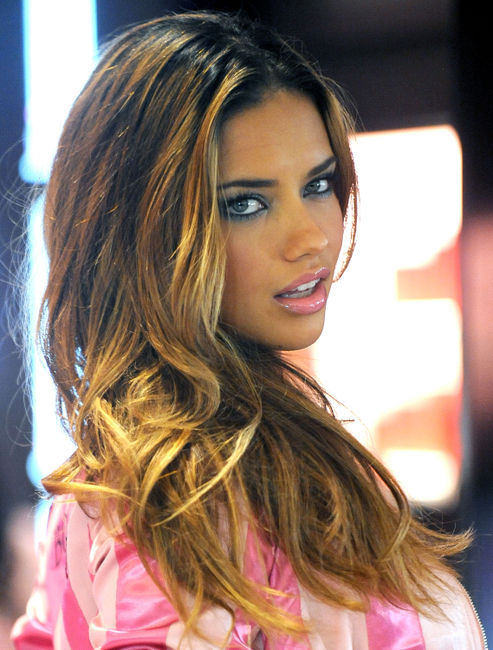 adriana lima, angels, eyes, fashion, hair