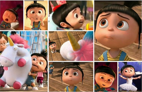 agnes, cute, despicable me, film, fluffy