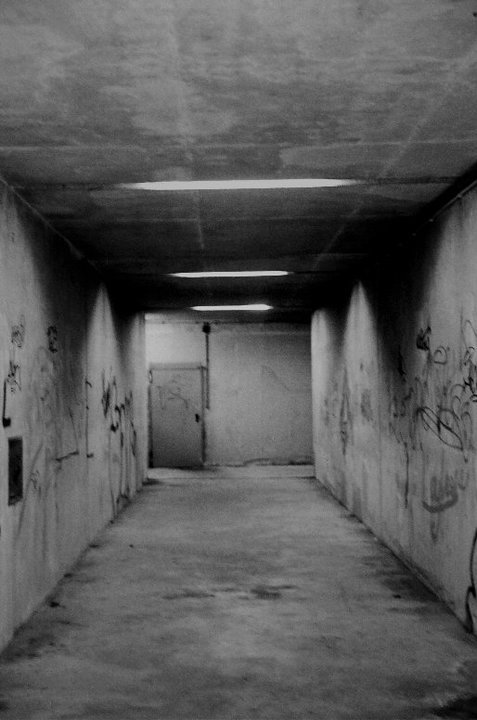 alone, amelie stravinski, amy hollywood, corner, creepy, dark, darkness, dirt, graffiti, lonely, lonelyness, scary, station, sub, sub station, subway