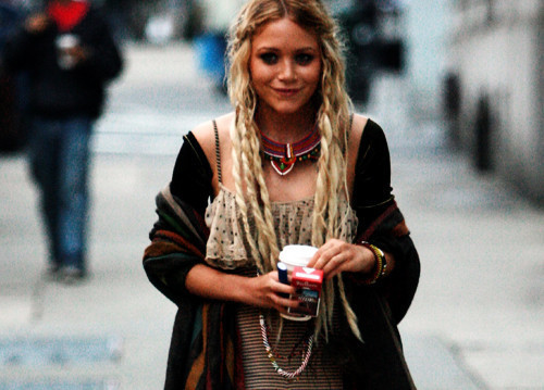 alternative, ashely olsen, ashley, blonde, cute, fashion, girl, grunge, hair, hipster, leather, mary kate, olsen, olsen twins, street style