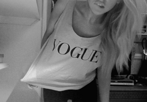 alternative, black and white, blonde, cute, fashion, girl, vogue, hair