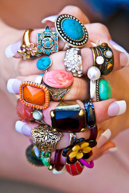 amazing, beautiful, blue, cute, fashion, flower, flowers, girl, green, intage, nail, orange, pink, ring, rings, wonderful