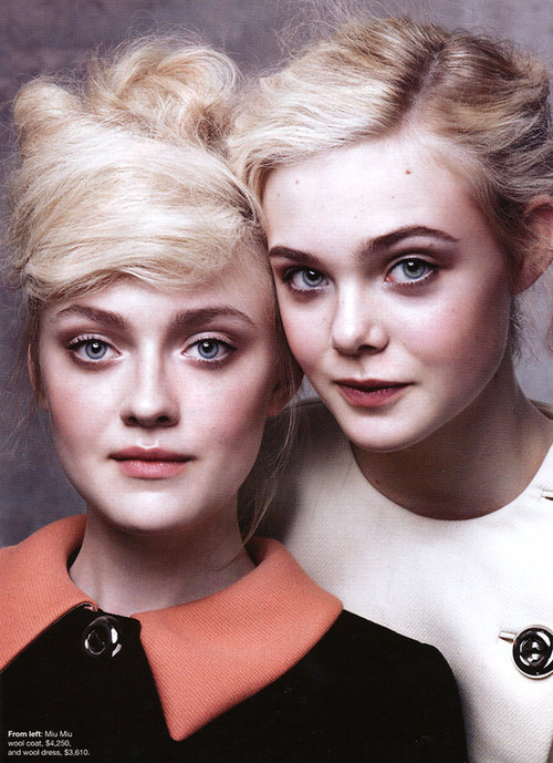 amazing, blonde, blue eyes, cute, dakota fanning