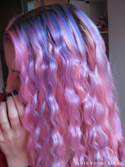 amazing, cute, dyed hair, fashion, girl
