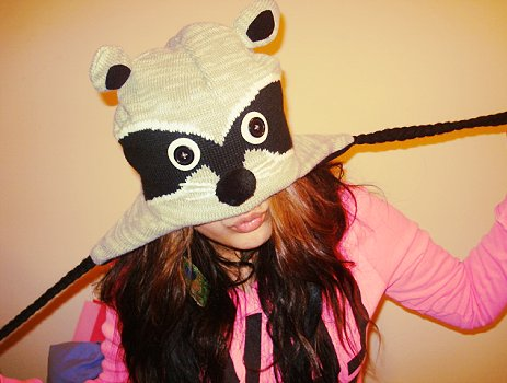 animal, animal hats, beauty, fashion, girl
