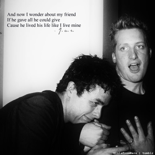 armstrong, billie joe, billie joe armstrong, dirnt, friends