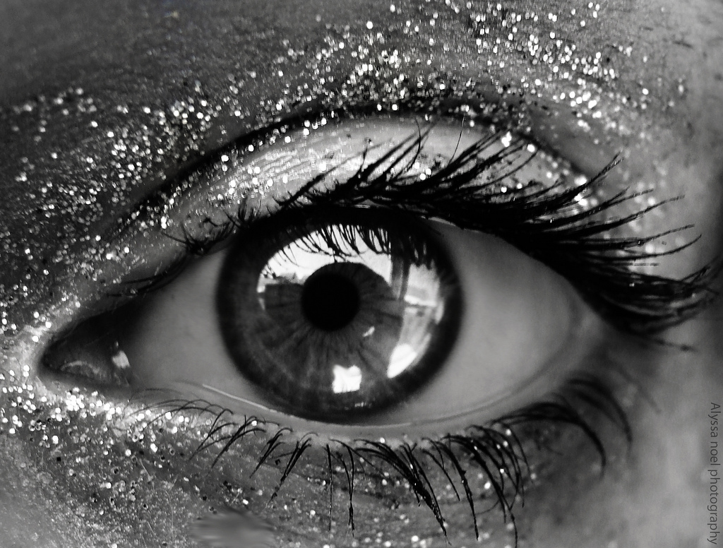 artistic, eye, eyes, girl, glitter