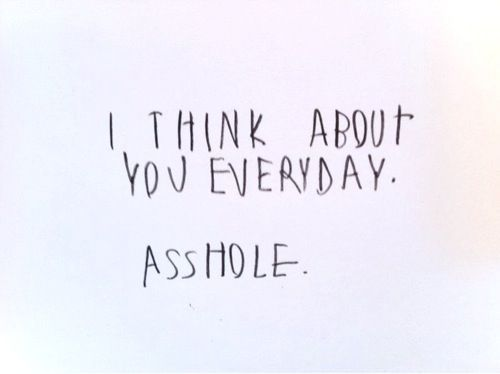 asshole, black, cute, everyday, hand writing
