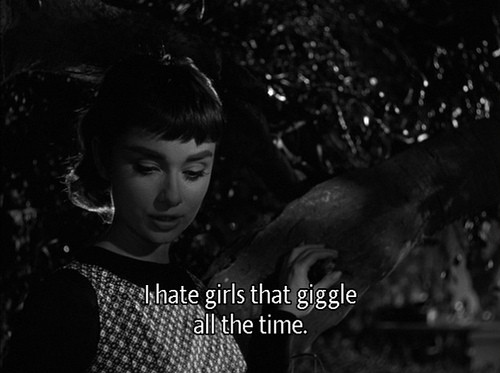 audrey hepburn, black and white, quote