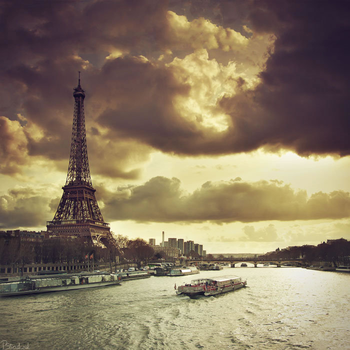 awesome, beautiful, boat, city of love, clouds