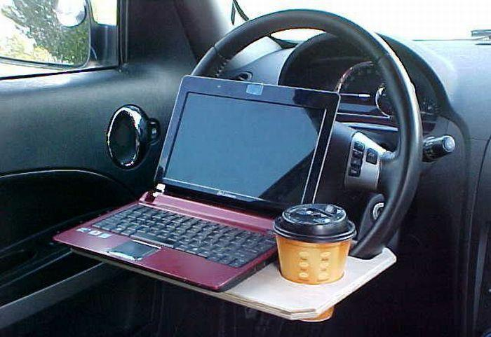 awesome, coffee, funny, invention, laptop
