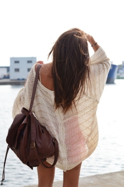 bag, beautiful, brunette, fashion, girl