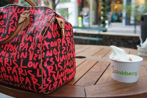 bag, beautiful, city, cool, cute, fashion, girl, photo, pink, pretty, summer, sweet