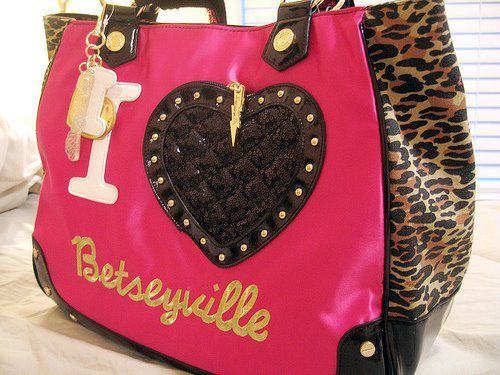 bag, betsey johnson, betseyville, cute, fashion