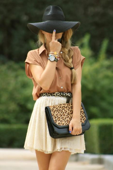 bag, classy, colorful, cute, fashion, glamour, hat, heels, hermes, hot, hotties, leopard, louboutin, pretty, pumps, shoes, skirt, style, stylish