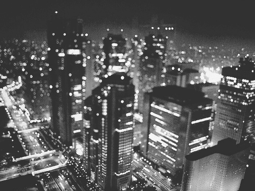 b&w, black and white, building and buildings