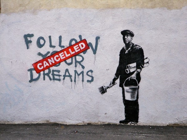 banksy, graffiti, street art