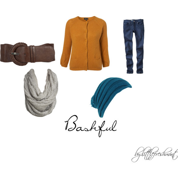 bashful, beauty, disney, fashion, polyvore, seven dwarfs, snow white, winter