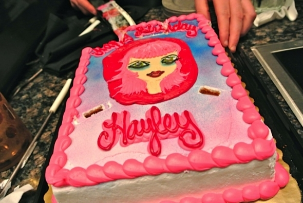 bday, birthday cake, cake, hayley williams, hayleys cake, paramore