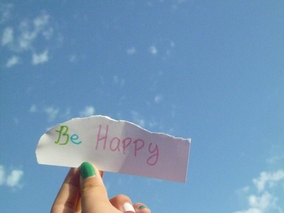 be happy, cielo, nails, sky