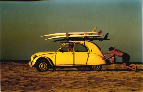 Retro Beach Wallpaper 500 489: Beach, Car, Fashion, Fun, Photography