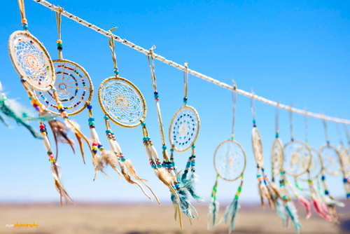 beach, colour, cute, dream catcher