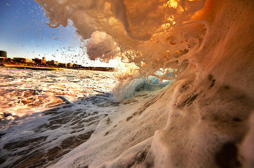 beach, foam, ocean, photography, summer