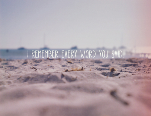 beach, note, quote, sentence, typography