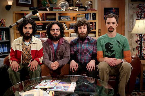 beard, big bang theory, howard wolowitz, leonard hofstadter, raj koothrappali, sheldon cooper, the big bang theory