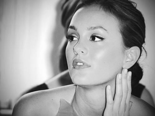 beautiful, beauty, black and white, blair waldorf, girl