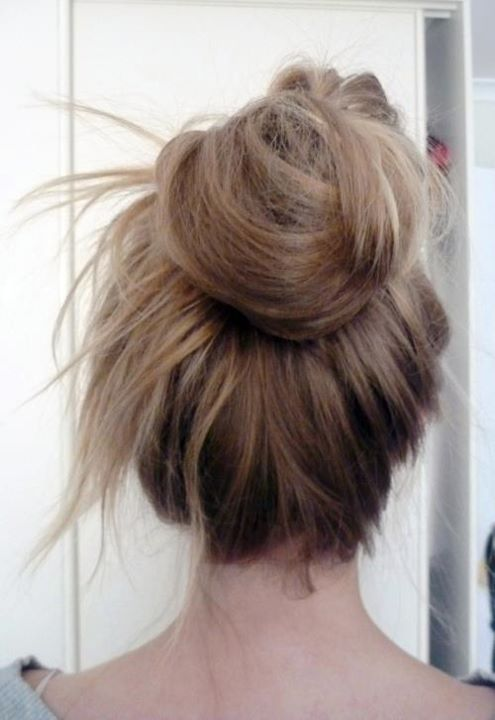 beautiful, blond, blonde, bun, cute