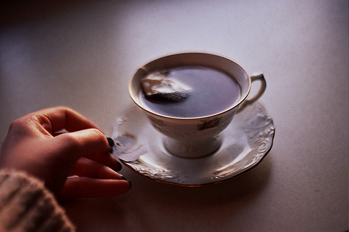 beautiful, coffee, cup, cute, girl, hair, hippie, hipster, not coffee, photo, photograph, photography, pretty, tea