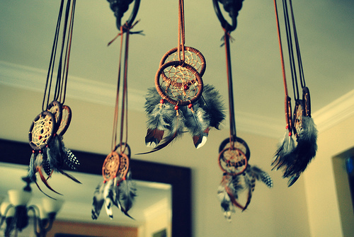 beautiful, colorful, cool, dope, dreamcatcher, dreamcatchers, dreams, feathers, keep away, pearls, photography, vintage