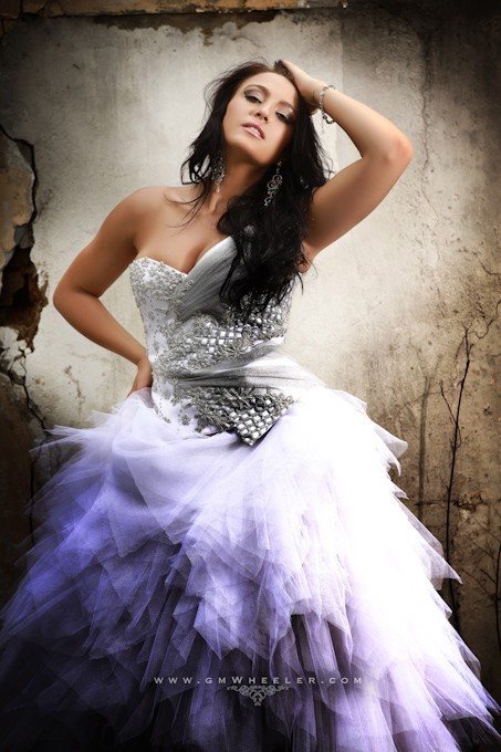 beautiful, cute, dress, fashion, garrick wheeler, girl, hair, i love the dress, makeup, nice, purple, white
