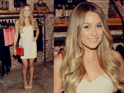 beautiful, dress, girl, lauren conrad, white