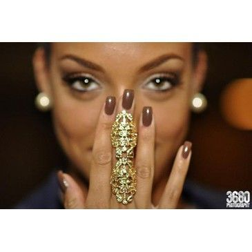 beautiful, eyes, fashion, gold, make up, nail polish, nails, pretty, ring