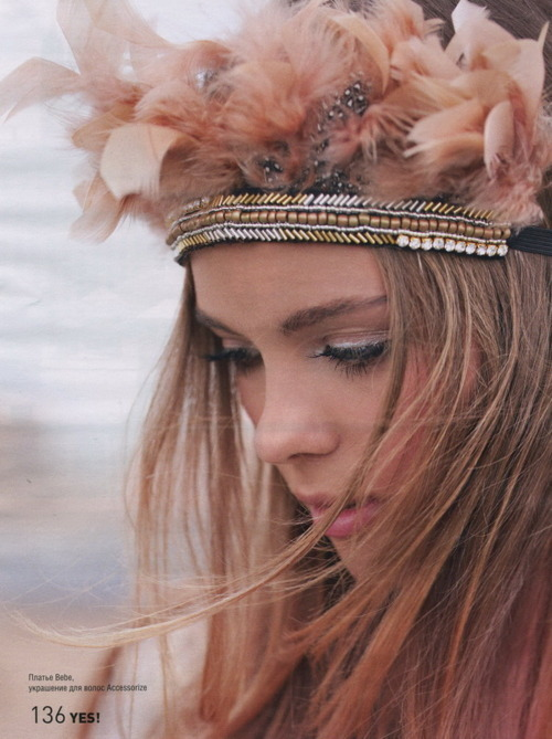 beauty, cute, fashion, feather, girl, hair, indian, love, makeup, pink, summer