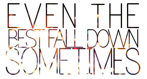 best, fall, lessons, life, typography