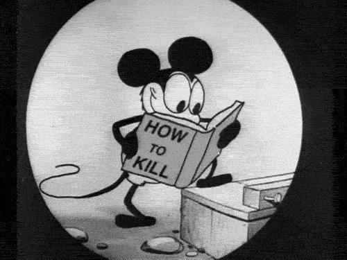 black and white, blanco y negro, book, caricaturas, comics, how, how to kill, kill, rat, text