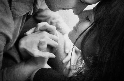 black and white, couple, cute, hands, hands together