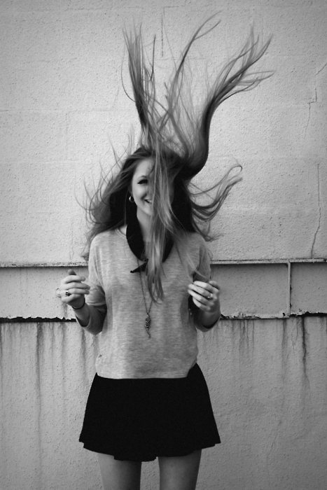 black and white, fashion, girl, hair, love