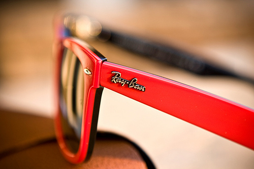 black, fashion, glasses, ray bans, red, summer, sun, sunglasses