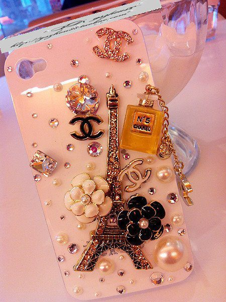 bling, chanel, flowers, iphone, ipod