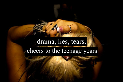 blond hair, drama, lies, tears, teenage