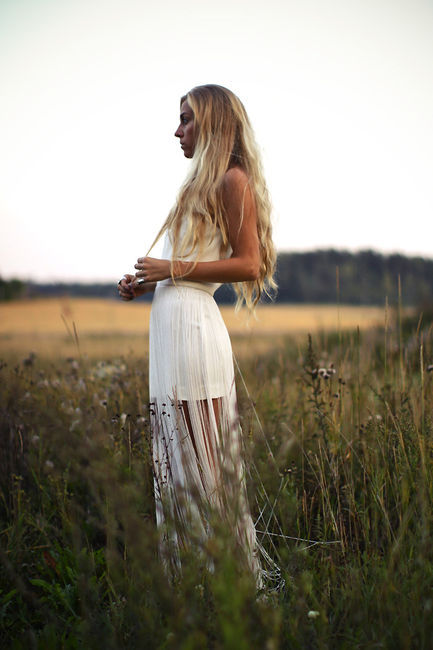 blonde, dress, fashion, girl, hair, long hair, tanned, white