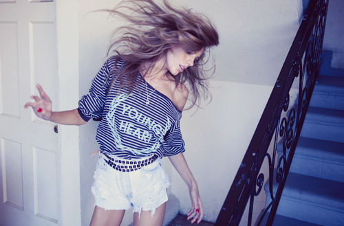 blonde, girl, hair, heart, wildfox